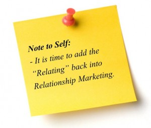 What is Relationship Marketing